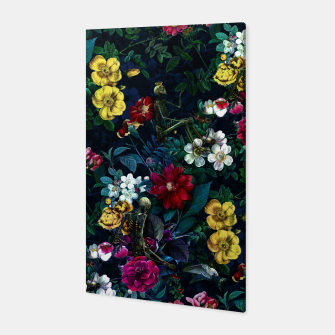 Thumbnail image of Flowers and Skeletons Canvas, Live Heroes