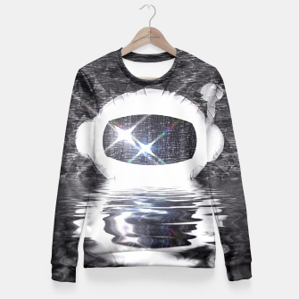 Thumbnail image of Parched Spaceman Fitted Waist Sweater, Live Heroes