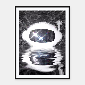 Thumbnail image of Parched Spaceman Framed poster, Live Heroes