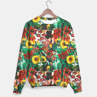 Thumbnail image of Multicolor Exotic Pattern Sweater, Live Heroes