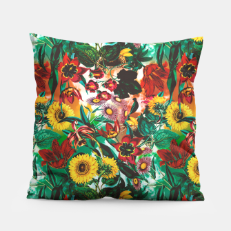 Thumbnail image of Multicolor Exotic Pattern Pillow, Live Heroes