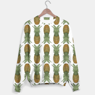 Thumbnail image of Pineapples Sweater, Live Heroes