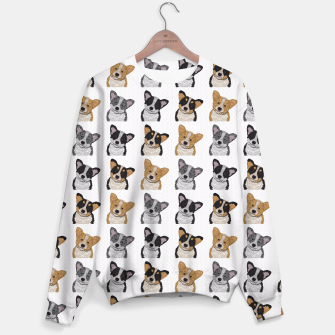 Thumbnail image of Welsh Corgies Sweater, Live Heroes