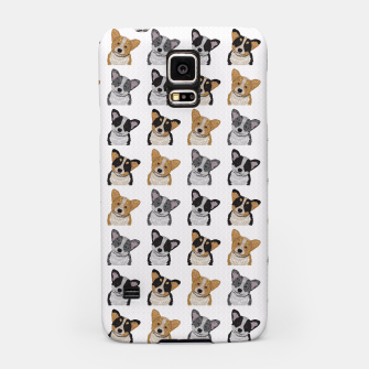 Thumbnail image of Welsh Corgies Samsung Case, Live Heroes