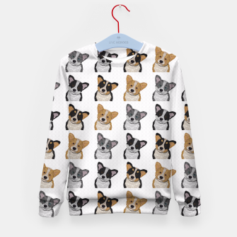 Thumbnail image of Welsh Corgies Kid's Sweater, Live Heroes