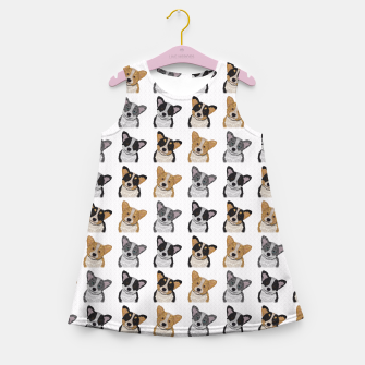 Thumbnail image of Welsh Corgies Girl's Summer Dress, Live Heroes