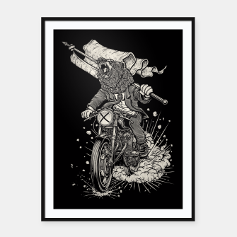 Thumbnail image of Winya No. 91 Framed poster, Live Heroes