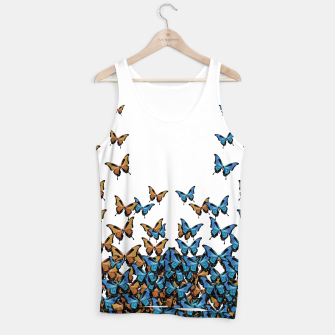 Thumbnail image of Two Tones Butterfly Tank Top, Live Heroes