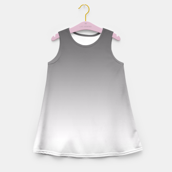 Imagen en miniatura de Gray Light Ombre Girl's Summer Dress, Live Heroes