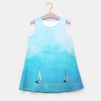 Imagen en miniatura de sailing blue Girl's Summer Dress, Live Heroes