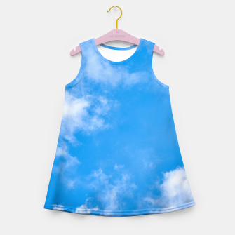 Imagen en miniatura de Summer Clouds Girl's Summer Dress, Live Heroes
