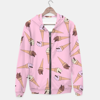 Thumbnail image of Ice Cream Fun Hoodie, Live Heroes