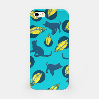 Thumbnail image of Cats and Feathers iPhone Case, Live Heroes