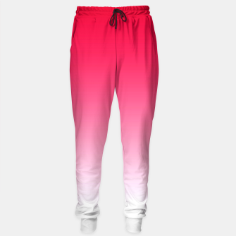 Thumbnail image of Red Light Ombre Sweatpants, Live Heroes