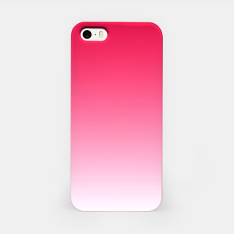 Thumbnail image of Red Light Ombre iPhone Case, Live Heroes