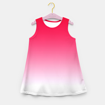 Imagen en miniatura de Red Light Ombre Girl's Summer Dress, Live Heroes