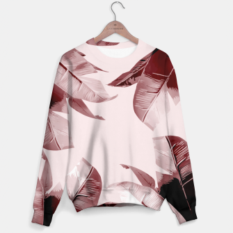 Thumbnail image of Blush Banana Leaves Sweater, Live Heroes