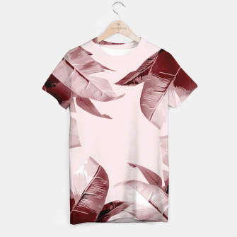 Thumbnail image of Blush Banana Leaves T-shirt, Live Heroes