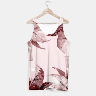 Thumbnail image of Blush Banana Leaves Tank Top, Live Heroes
