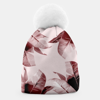 Thumbnail image of Blush Banana Leaves Beanie, Live Heroes