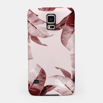 Thumbnail image of Blush Banana Leaves Samsung Case, Live Heroes