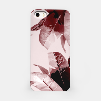 Thumbnail image of Blush Banana Leaves iPhone Case, Live Heroes