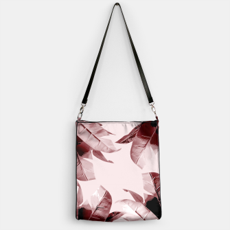 Thumbnail image of Blush Banana Leaves Handbag, Live Heroes