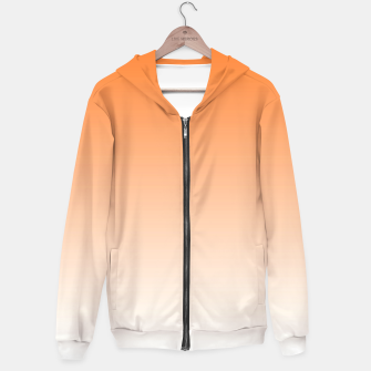 Thumbnail image of Orange Light Ombre Hoodie, Live Heroes