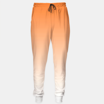 Thumbnail image of Orange Light Ombre Sweatpants, Live Heroes