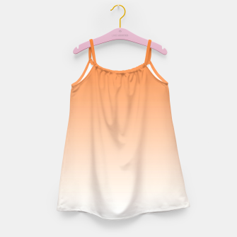 Thumbnail image of Orange Light Ombre Girl's Dress, Live Heroes