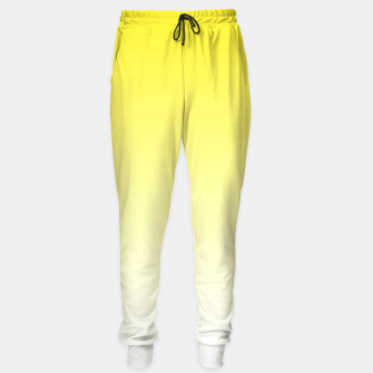Thumbnail image of Yellow Light Ombre Sweatpants, Live Heroes