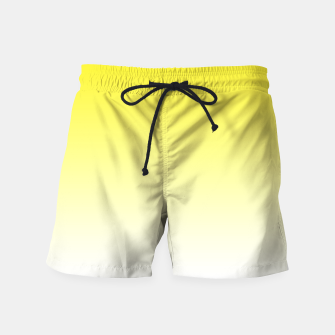 Thumbnail image of Yellow Light Ombre Swim Shorts, Live Heroes