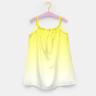 Thumbnail image of Yellow Light Ombre Girl's Dress, Live Heroes