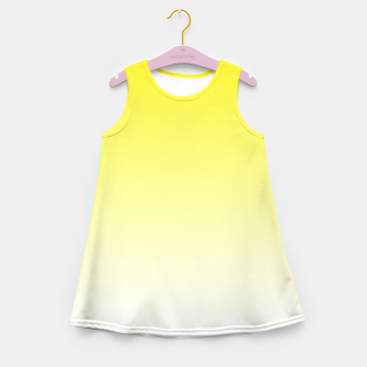 Imagen en miniatura de Yellow Light Ombre Girl's Summer Dress, Live Heroes