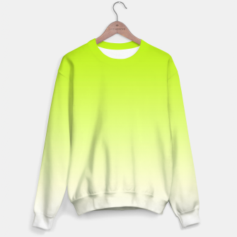 Thumbnail image of Lime Green Light Ombre Sweater, Live Heroes