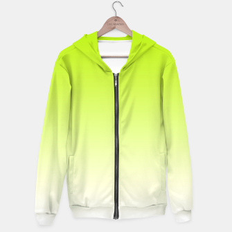 Thumbnail image of Lime Green Light Ombre Hoodie, Live Heroes