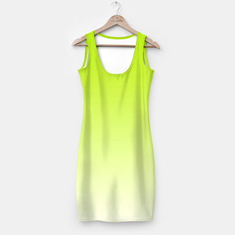 Thumbnail image of Lime Green Light Ombre Simple Dress, Live Heroes