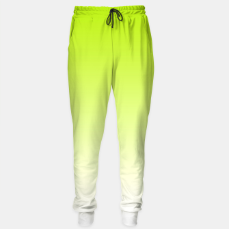 Thumbnail image of Lime Green Light Ombre Sweatpants, Live Heroes