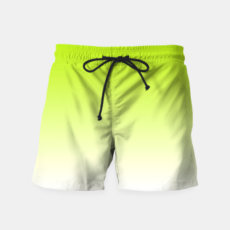 Thumbnail image of Lime Green Light Ombre Swim Shorts, Live Heroes