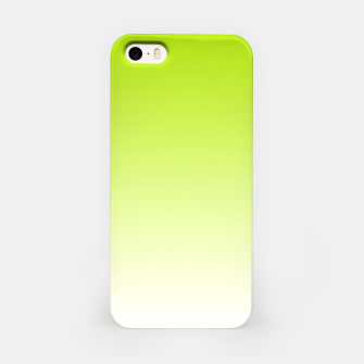 Thumbnail image of Lime Green Light Ombre iPhone Case, Live Heroes
