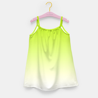 Thumbnail image of Lime Green Light Ombre Girl's Dress, Live Heroes