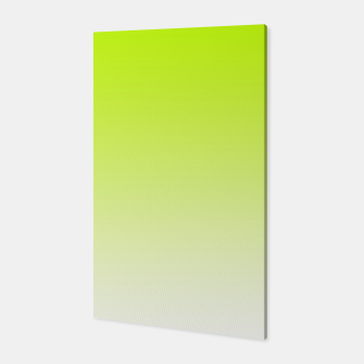 Thumbnail image of Lime Green Light Ombre Canvas, Live Heroes