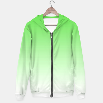 Thumbnail image of Leaf Green Light Ombre Hoodie, Live Heroes