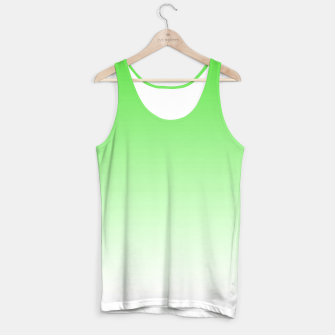 Thumbnail image of Leaf Green Light Ombre Tank Top, Live Heroes