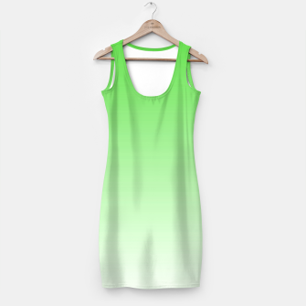 Thumbnail image of Leaf Green Light Ombre Simple Dress, Live Heroes