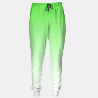 Thumbnail image of Leaf Green Light Ombre Sweatpants, Live Heroes