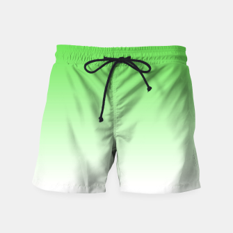 Thumbnail image of Leaf Green Light Ombre Swim Shorts, Live Heroes