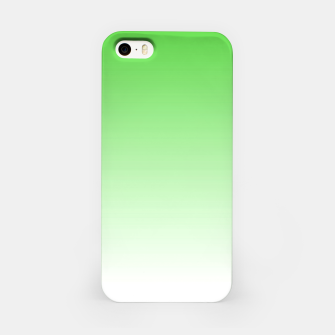 Thumbnail image of Leaf Green Light Ombre iPhone Case, Live Heroes