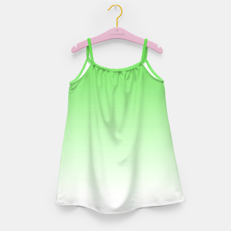 Thumbnail image of Leaf Green Light Ombre Girl's Dress, Live Heroes