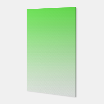 Thumbnail image of Leaf Green Light Ombre Canvas, Live Heroes